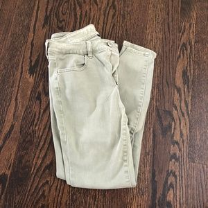 AE Hi-Rise Jegging Next Level Stretch Olive Green